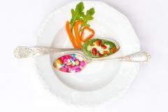 Pillen oder Gemüse?